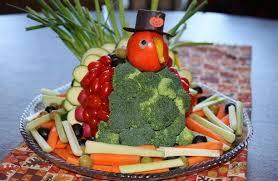 thanksgiving turkey vegetable platter ideas one hundred dollars