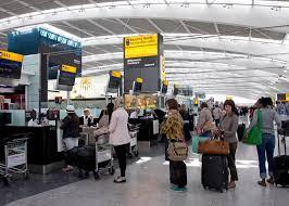 Heathrow Terminal 3 Information Desk Outrage As David Walliams Poses As British Airways Attendant At