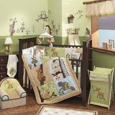 baby nursery interesting green baby bedroom decoration with light