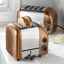 Toaster Ideas Dualit Newgen Copper Toasters Crate And Barrel