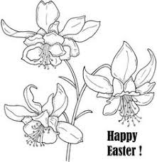 Easter Flower Coloring Pages - california poppy california poppy for the love one coloring page