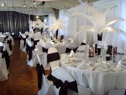 modern style wedding decorations ideas with wedding reception