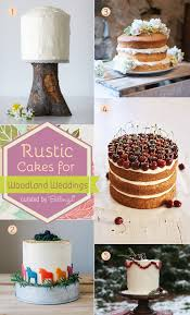simple rustic cakes for woodland weddings diy tips and tricks