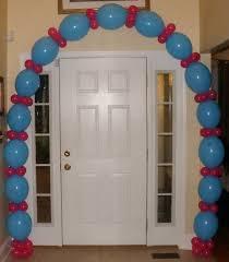 balloon arches balloon arches spiral columns centerpieces for in