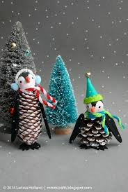 mmmcrafts handmade gifts 2014 penguin ornaments holiday