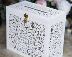 wedding money box wedding money box etsy