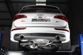 audi q5 performance parts milltek audi q5 exhaust system milltek audi q5 2 0 tfsi quattro