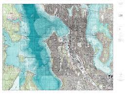 Usgs Topographic Maps Mytopo Seattle South Washington Usgs Quad Topo Map