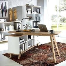 bureau en table bureau bois bureau industriel metal bois bureau b14 structure