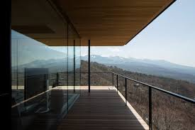 Glass Wall House by Mountain Home Glass Walls And Terrace Made For Views