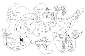 pirate treasure map coloring pages home page best photos