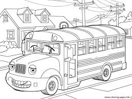 bus for kidsc488 coloring pages printable