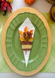 thanksgiving paper napkin folding ideas best images collections