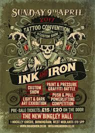 dead human design ink u0026 iron tattoo convention