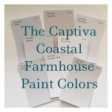 looking for a coastal farmhouse paint palette soft colors from