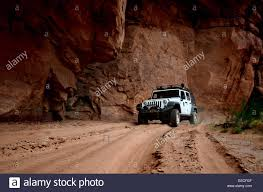 jeep utah driving off road with a 4x4 jeep in canyonlands national park in