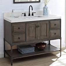 fairmont designs bathroom vanities fairmont designs 1401 48 toledo 48 vanity door driftwood gray