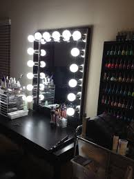 Portable Lighting For Makeup Artists Ideas For Making Your Own Vanity Mirror With Lights Diy Or Buy