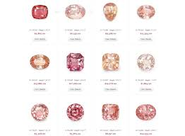 padparadscha sapphire engagement ring sapphire why is for engagement rings