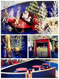 Large Christmas Decorations For Shops by Wesfield Shopping Centre Christmas Decoration Santa Set
