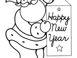 happy new year preschool coloring pages 43 christmas preschool coloring pages holiday santa colouring pages