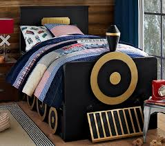 personalized bed trundle midnight gray pottery barn