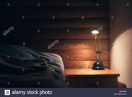 Schlafzimmer Lampe Nachttisch Night Light And Sleeping Stockfotos U0026 Night Light And Sleeping