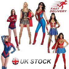 Marvel Female Halloween Costumes Marvel Womens Fancy Dress Ebay