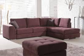 canapé cuir prune canapé d angle confortable fonctionnel et esthétique