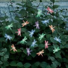 color changing solar string lights changing dragonfly solar string lights