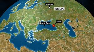 Map Of Russia And Syria by Russian Plane Carrying Choir Members Crashes In Black Sea No Sign