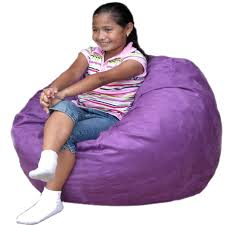 Big Joe Bean Chair Kids Bean Bag Chair Cozy Sack Foam Filled Microfiber Ebay