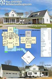home design farmhouse with attached garage hostetler kevrandoz
