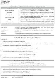 sle resume for experienced php developer free download developer resume application developer resume sle sle