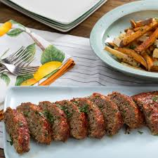 america s test kitchen meatloaf recipe meatloaf with parsnip u0026 sweet potato oven fries blue apron