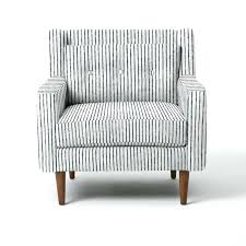 Black And White Striped Accent Chair Blue And White Accent Chair Bemine Co