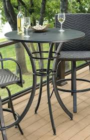 High Bistro Table Set Outdoor High Outdoor Table And Chairs High Top Outdoor Patio Furniture