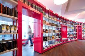 Retail Interior Design Ideas by Paagman Book Store Design By Cube Architects Architecture