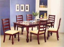 wooden furniture dining room tables as focal point dining room