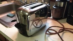 Toastmaster Toaster The Best Toaster Ever Made Toastmaster 1b14 Youtube