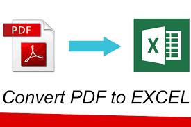 How To Convert Pdf File Into Excel Spreadsheet How To Convert Pdf File To Excel File