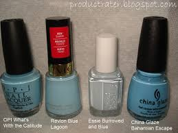 opi light blue nail polish productrater baby pastel blue nail polish swatches and comparisons