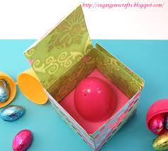 sugargem sugargem u0027s mini easter egg box and template tutorial