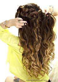 easy hairstyles for school with pictures cute combo braid half up half down hairstyle school everyday