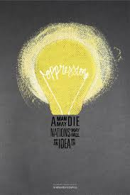 light bulb poster design google search freelance brainstorming