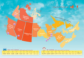Map Canada Provinces by Map Energy Use In Canada