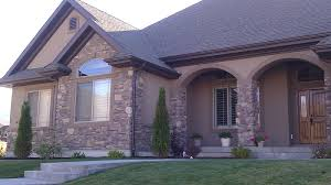 Stucco Homes Pictures Dark Brown Stucco Homes Residential Design Salem 2 Someday