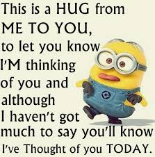 Thinking Of You Meme - thinking of you elliot xx mama sharon pinterest funny minion