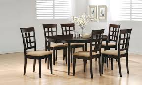 coaster table and chairs coaster fine furniture 100770 100772 mix match oval dining table set