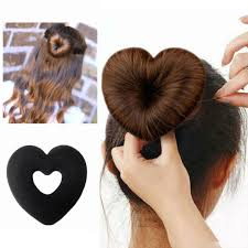 hair bun maker heart shape hair bun maker things